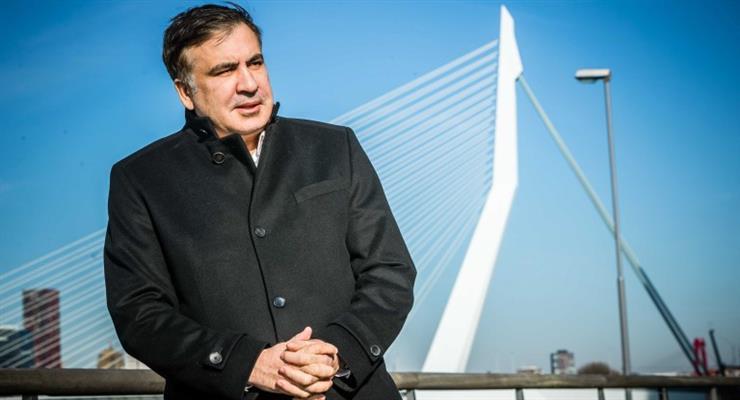 Саакашвили выступил на видеоконференции
