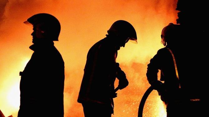 пожежа на полігоні твердих побутових відходів біля Норильська