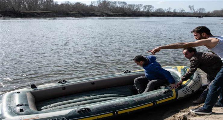 в озере найдены тела 5 мигрантов