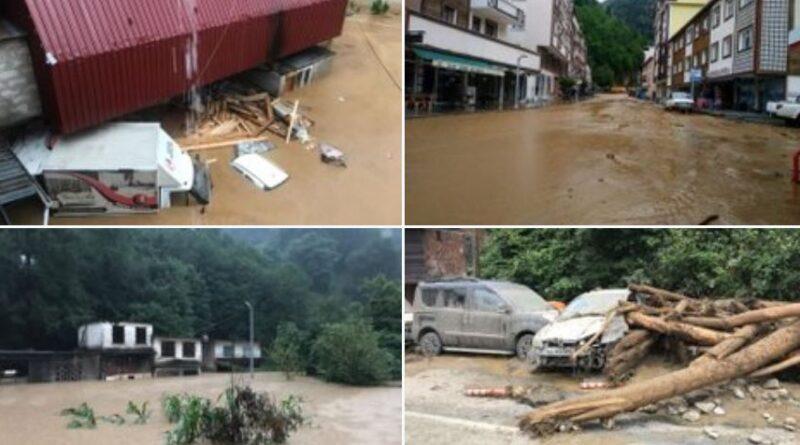 наводнение в Турции не обошлось без жертв