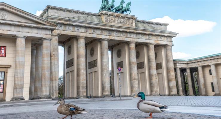 в Германии падает уровень безработицы