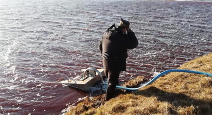 екологічна катастрофа в Норильську