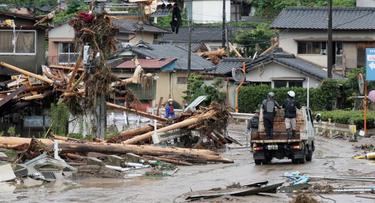 56 человек погибло в результате сильных дождей