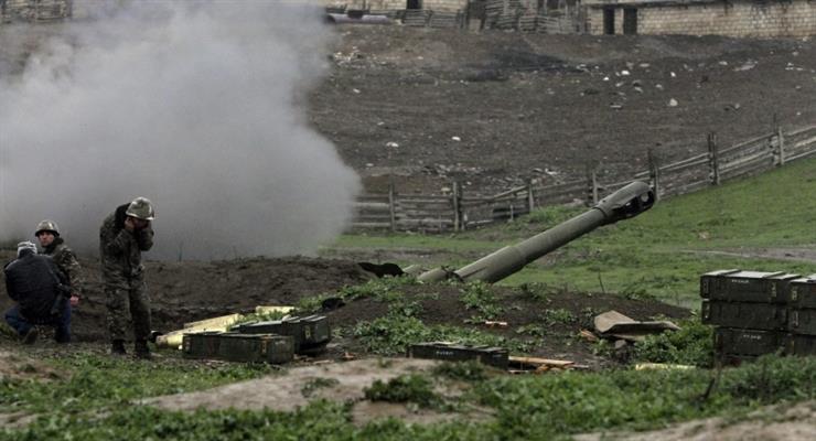 боевые действия на границе Армении и Азербайджана