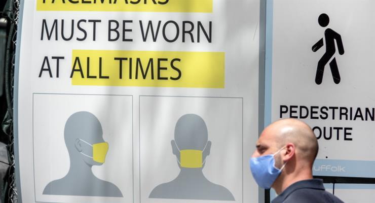 опитування американців про маски для обличчя