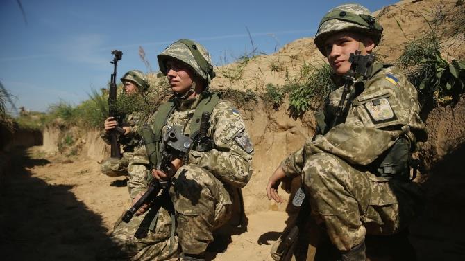 навчання українських військ разом з НАТО