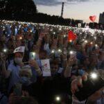 Соперница Лукашенко выступила на митинге в Минске