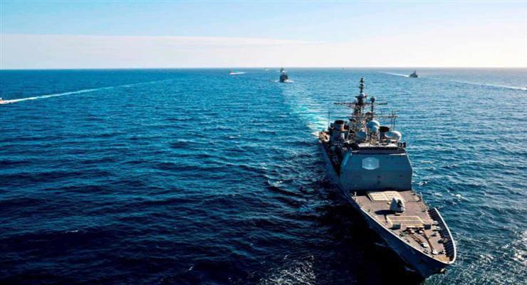 військово-морські навчання «Океанський щит 2020»