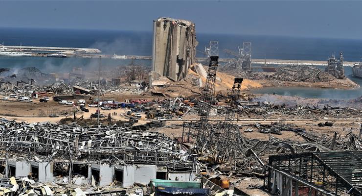 расследование причин взрыва в Бейруте