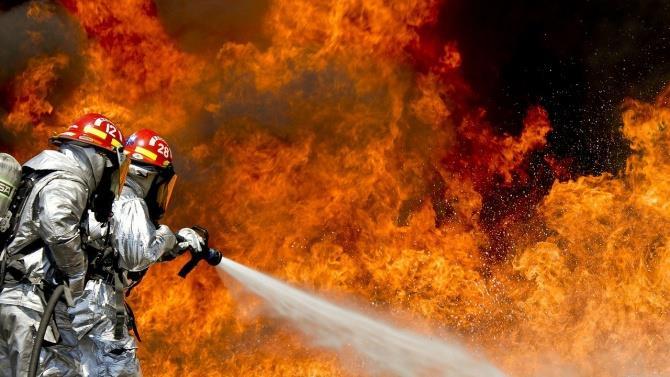 пожар в Андалусии