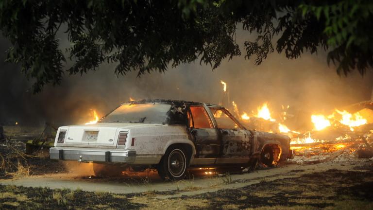Сотні пожеж в Каліфорнії. Тисячі людей евакуйовані