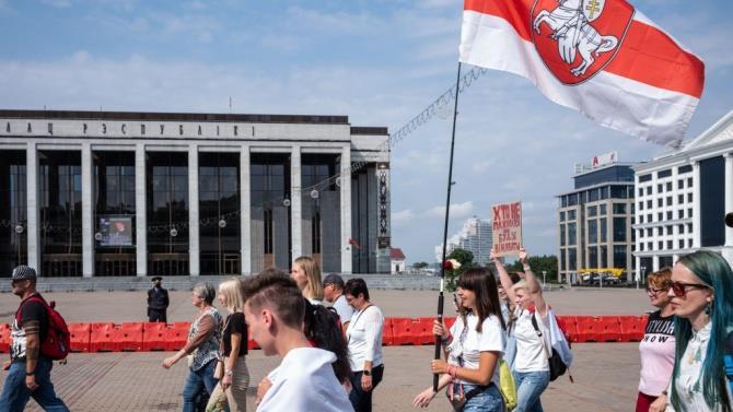 сотні студентів бойкотували початок навчального року в Білорусі