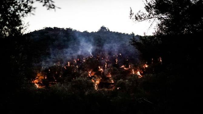 пожежі в таборі біженців