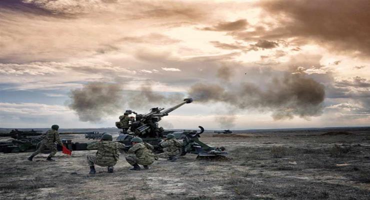 артилерія турецької армії відкрила вогонь по курдських селах