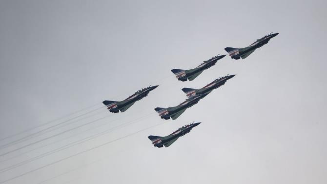 китайських винищувачів увійшли в повітряний простір Тайваню