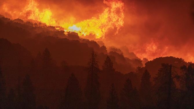 в США продовжують бушувати пожежі