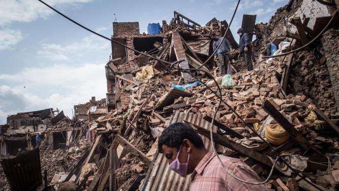 зсув в Непалі