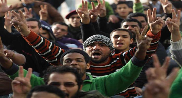 протести в Ливії