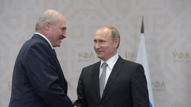 Лукашенко прибув до Росії