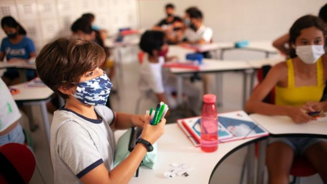 171 класс перешел на дистанционное обучение