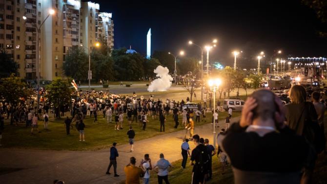 вчера в Минске арестовано 83 человека