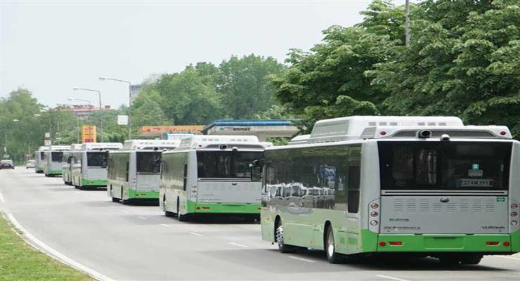 громадський транспорт більш екологічний