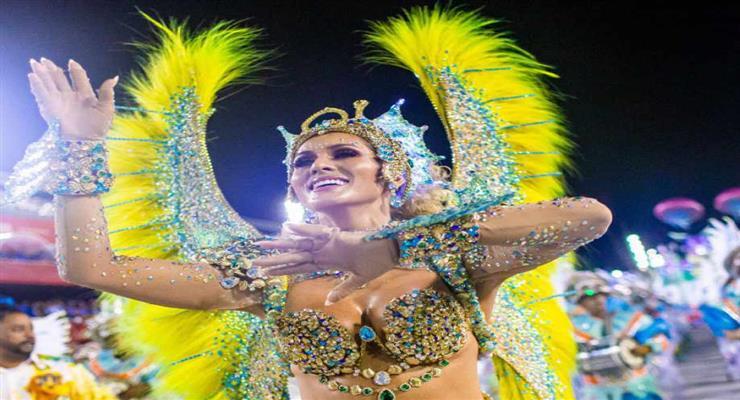 бразильский карнавал отложен на неопределенное время