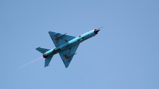 разбился сербский МиГ-21