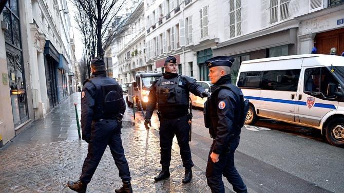 напад в центрі Парижа