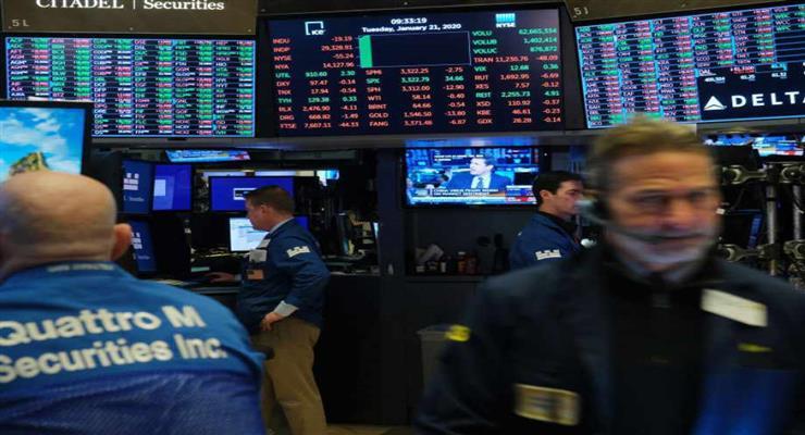 торговля всеми акциями на фондовой бирже в Токио приостановлена