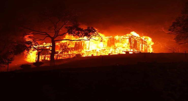 пожежа в 33-поверховому будинку