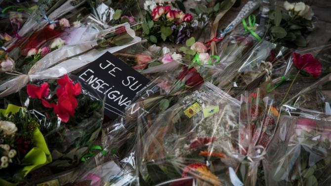 вбивство вчителя історії у Франції