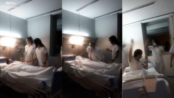 медсестры будут наказаны из-за скандального видео