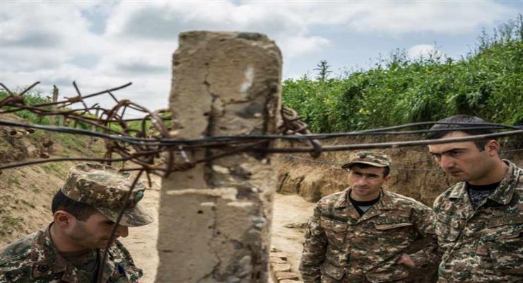 відеозапис розгрому вірменської армією штурмового підрозділу азербайджанського спецназу