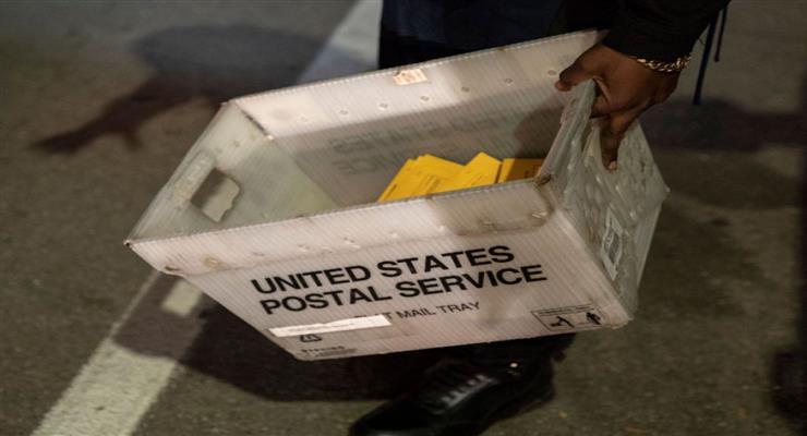 поштова служба США не доставила вчасно більше 150 000 бюлетенів