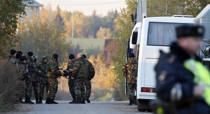 солдат убив трьох осіб