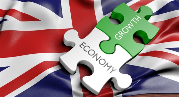 в Англії спостерігається зростання економіки