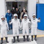 Crew Dragon злетів з чотирма астронавтами на борту