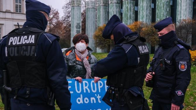 протести в Варшаві