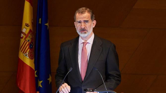 король Іспанії Філіп VI поміщений в карантин