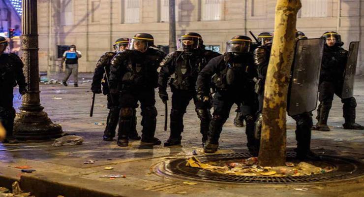 протесты мигрантов во Франции