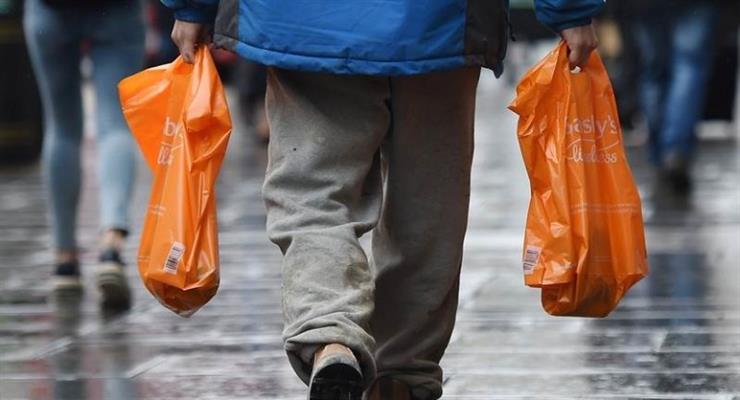 заборона використання пластикових пакетів для покупок з 2022 року