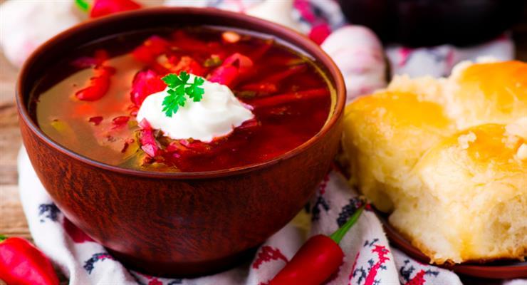 борщ - дійсно українська страва