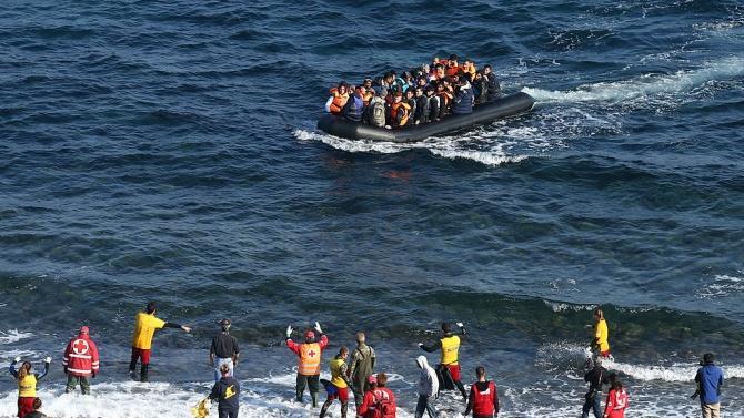 пошуково-рятувальна операція у грецького острова Лесбос
