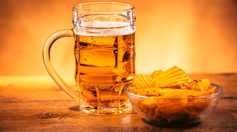 улюблена всіма комбінація пива і чіпсів вперше використовується для боротьби зі зміною клімату