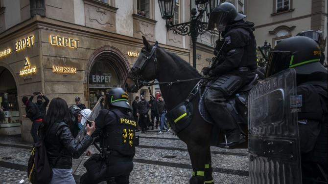 протесты против ограничительных мер
