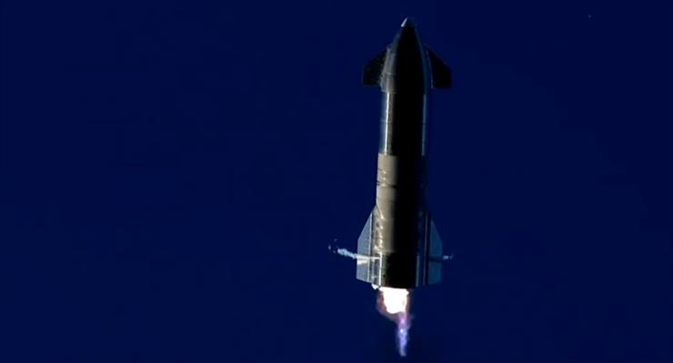SpaceX Starship вибухнув під час випробувань