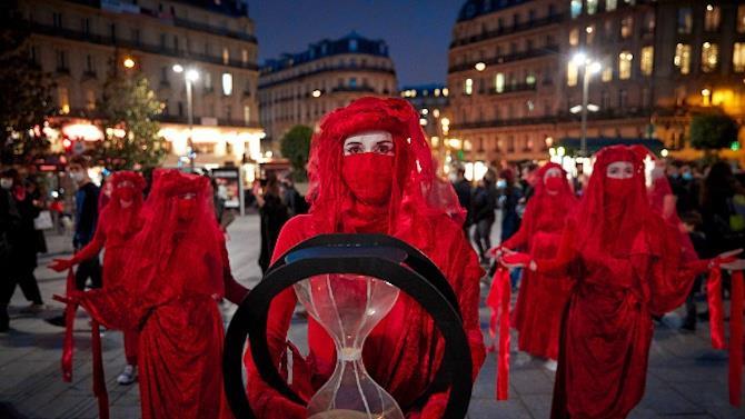 акция протеста экологических активистов
