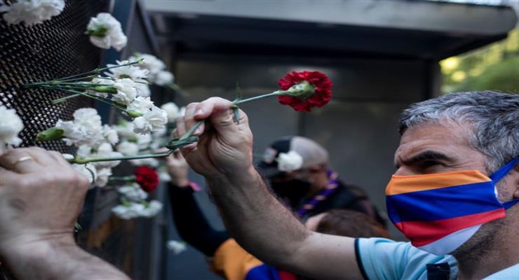 , акция протеста в Армении