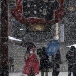 По Японії прокотилася хвиля холоду